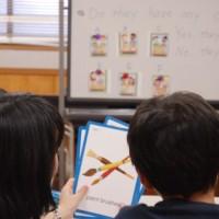 愛知聖ルカセンター(尾張旭)のこども英会話 小学校高学年クラスの様子