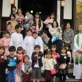 子ども祝福式が行われました。