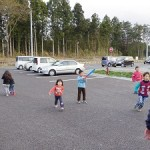 Fun time with children.