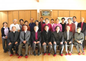 At the welcome lunch held on the 28th, together with some staffers of the church and its kindergarten