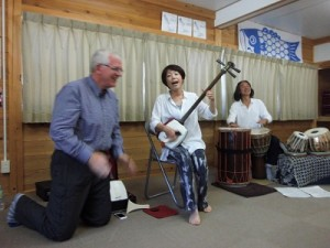"""Shamisen"" (Japanese banjo) performance."