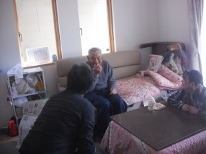 Home visit-maintaining a close relationship with people.