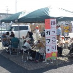 """Hokkori Café"" is a place where evacuees can meet new friends and strengthen the friendships they already have."